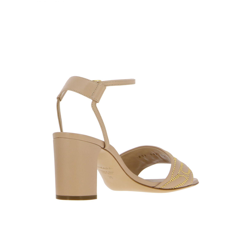 Heeled sandals Casadei: Shoes women Casadei blush pink 5