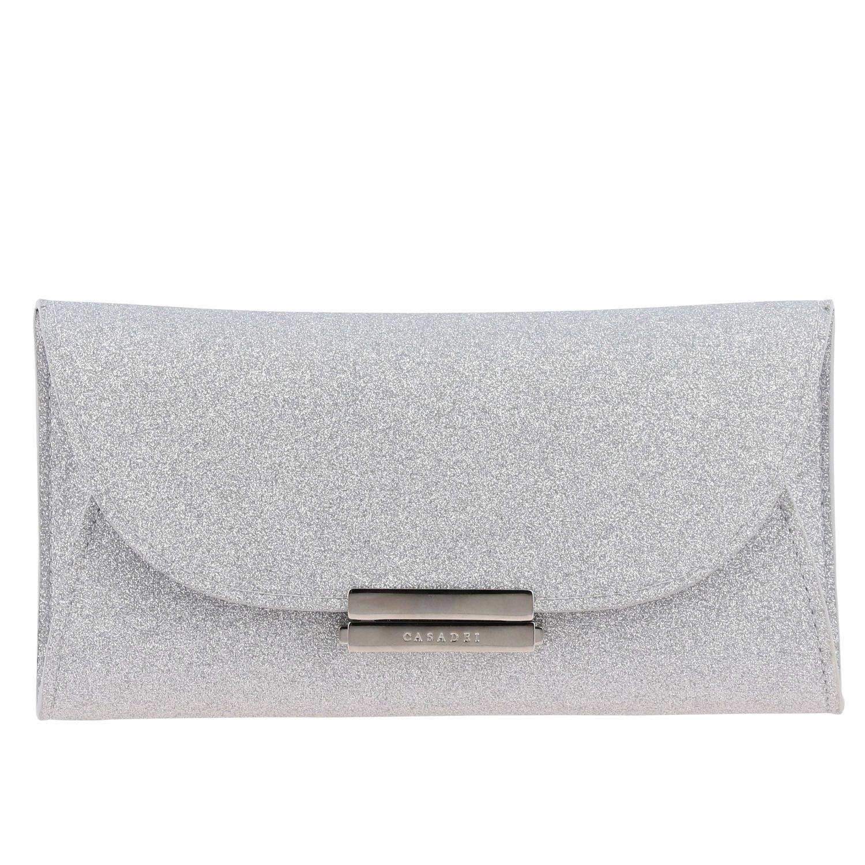 Crossbody bags Casadei: Shoulder bag women Casadei silver 1
