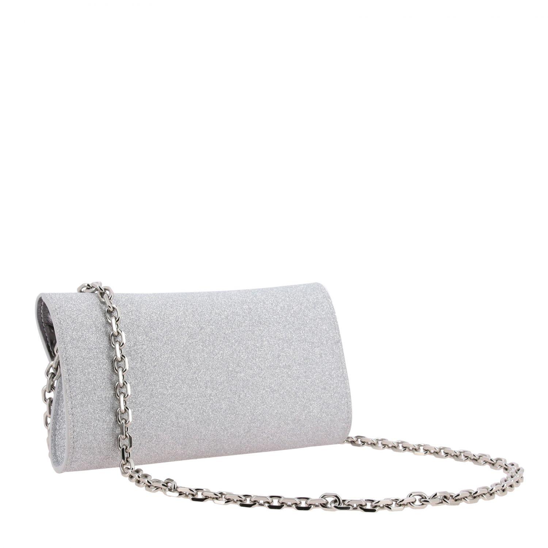 Crossbody bags Casadei: Shoulder bag women Casadei silver 3