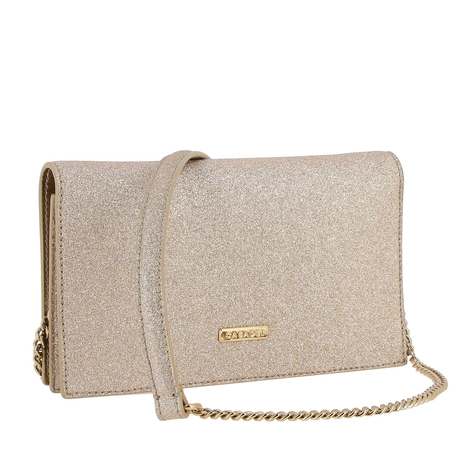 Clutch Casadei: Shoulder bag women Casadei platinum 3