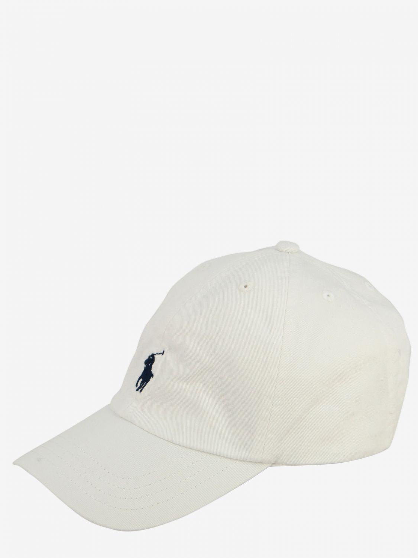 Gorro niños Polo Ralph Lauren Boy blanco 1