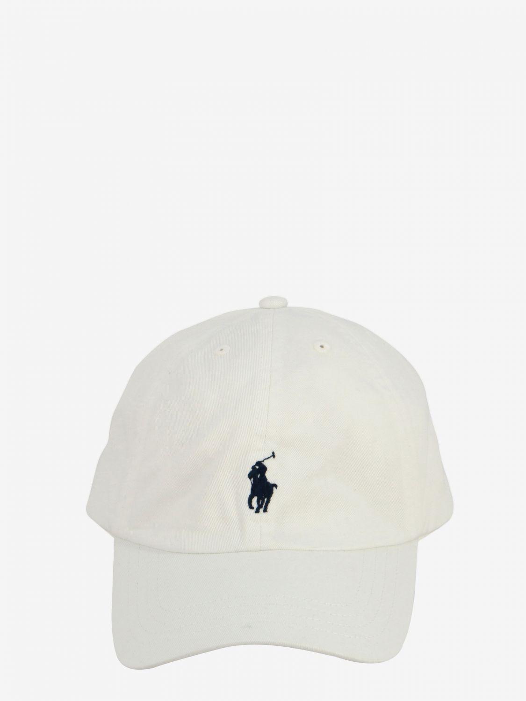 Gorro niños Polo Ralph Lauren Boy blanco 2