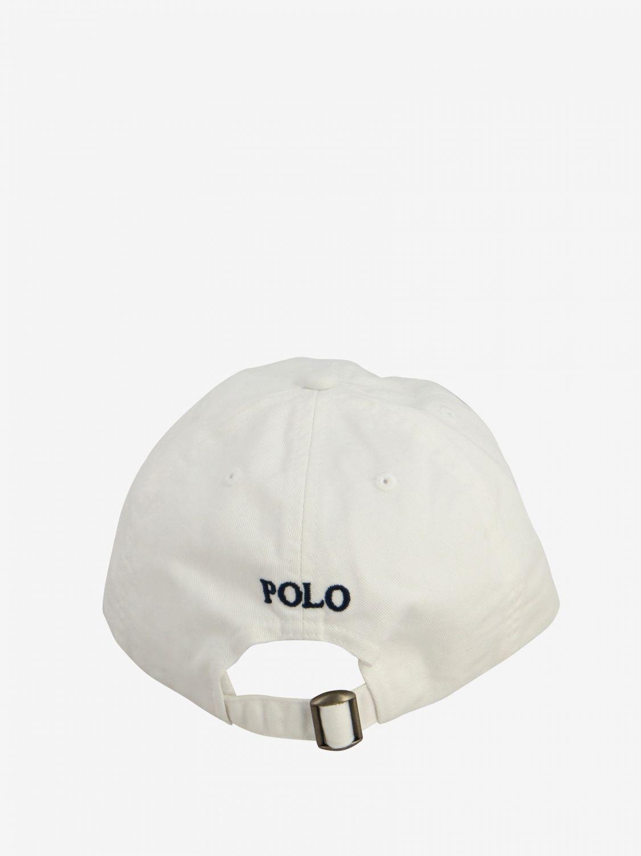 Gorro niños Polo Ralph Lauren Boy blanco 3