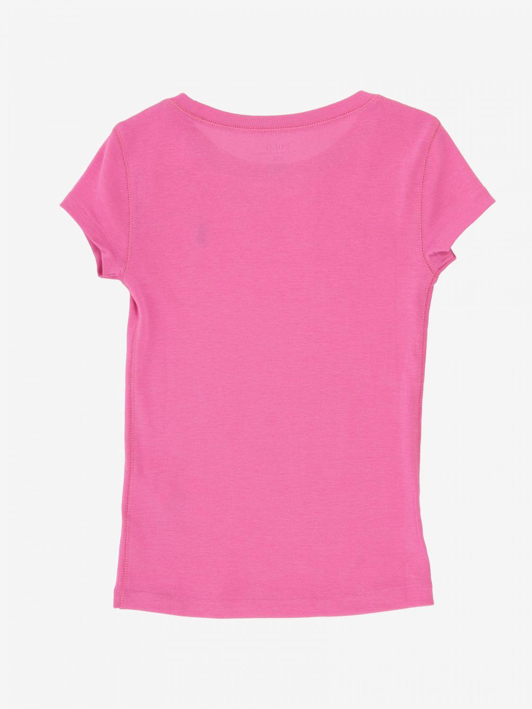 T-shirt Polo Ralph Lauren Toddler basic fuchsia 2
