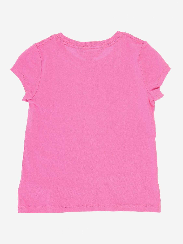 T-shirt Polo Ralph Lauren Toddler avec logo fuchsia 2