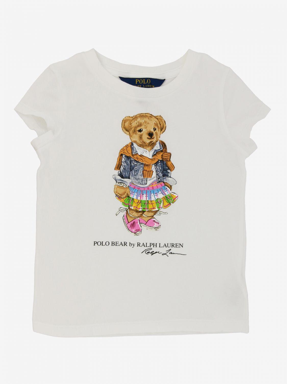 Polo Ralph Lauren Toddler T恤 白色 1