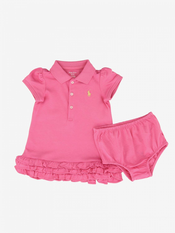Dress kids Polo Ralph Lauren Infant fuchsia 1