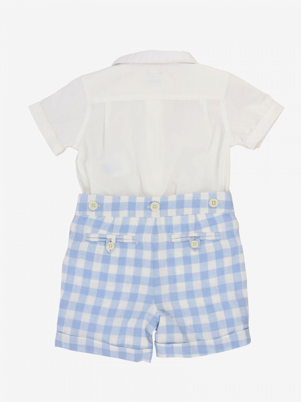 Jumpsuit kids Polo Ralph Lauren Infant gnawed blue 2