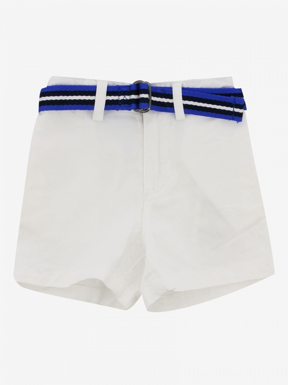 Short Polo Ralph Lauren Infant avec ceinture blanc 1
