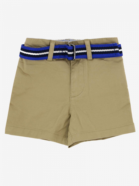 Short Polo Ralph Lauren Infant avec ceinture kaki 1