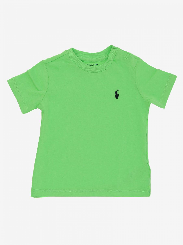 Polo Ralph Lauren Infant logo T恤 青柠绿 1
