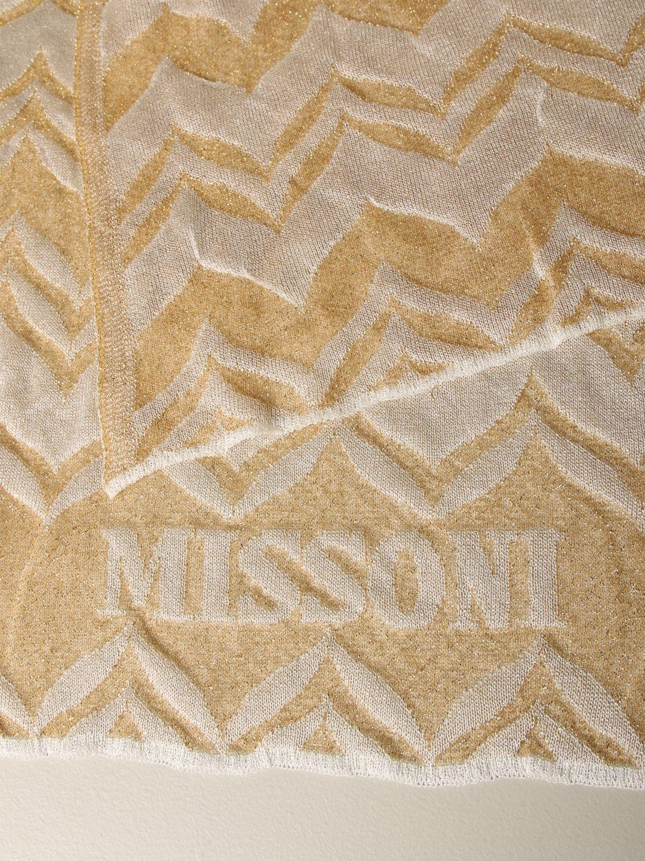 Schal damen Missoni gold 3