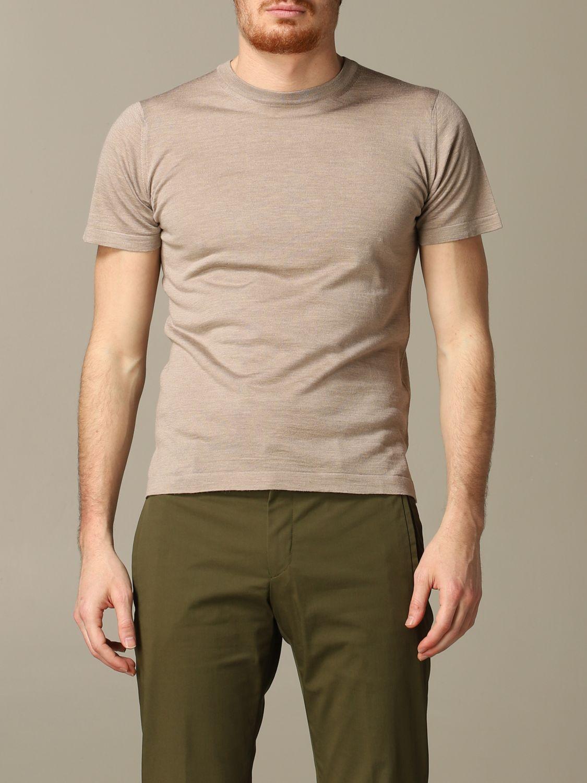 T-shirt Cruciani: T-shirt men Cruciani dove grey 1