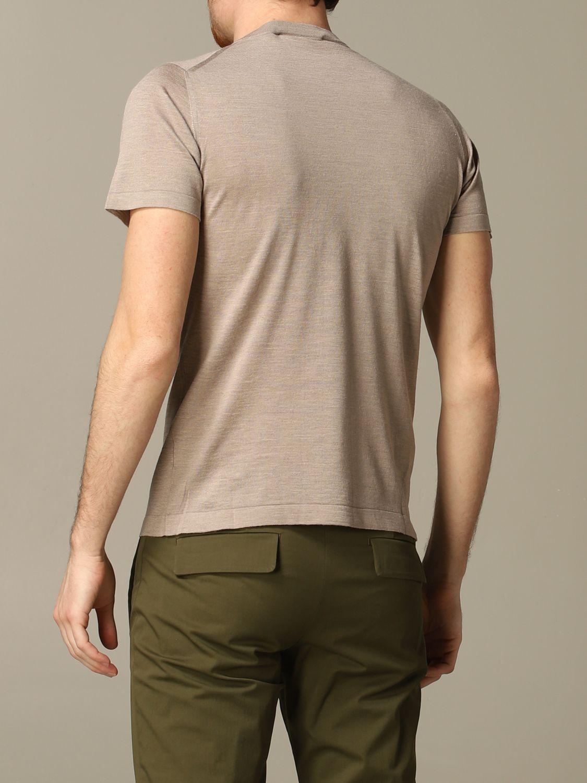 T-shirt Cruciani: T-shirt men Cruciani dove grey 2
