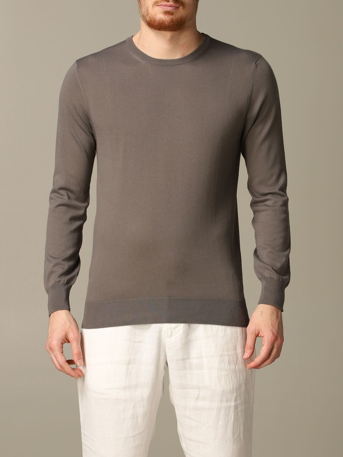 Sweater Cruciani: Sweater men Cruciani dove grey 1