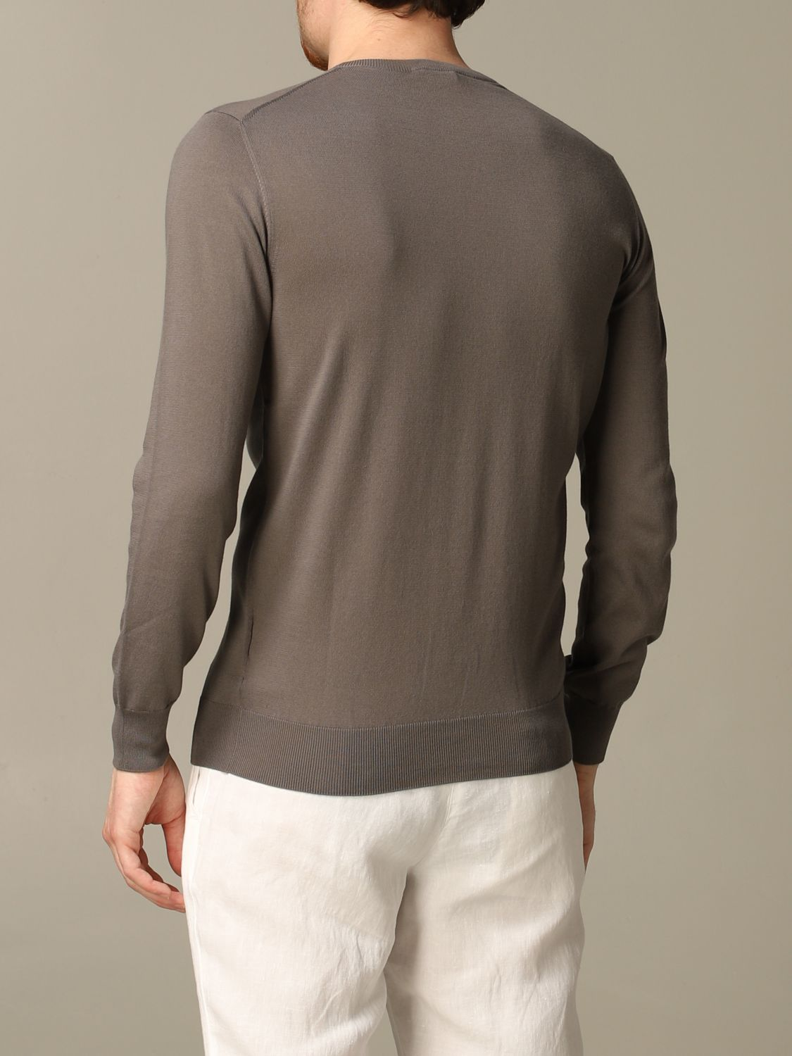 Sweater Cruciani: Sweater men Cruciani dove grey 2