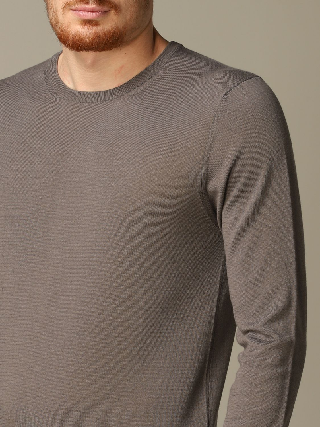 Sweater Cruciani: Sweater men Cruciani dove grey 3