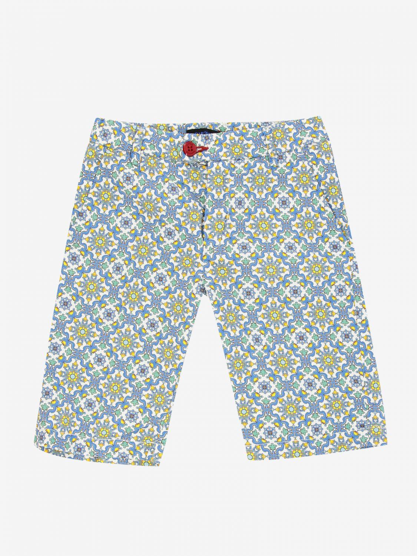 短裤 Baronio: Baronio 印花裤子 彩色 1