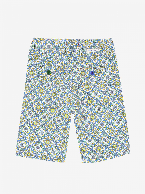 短裤 Baronio: Baronio 印花裤子 彩色 2