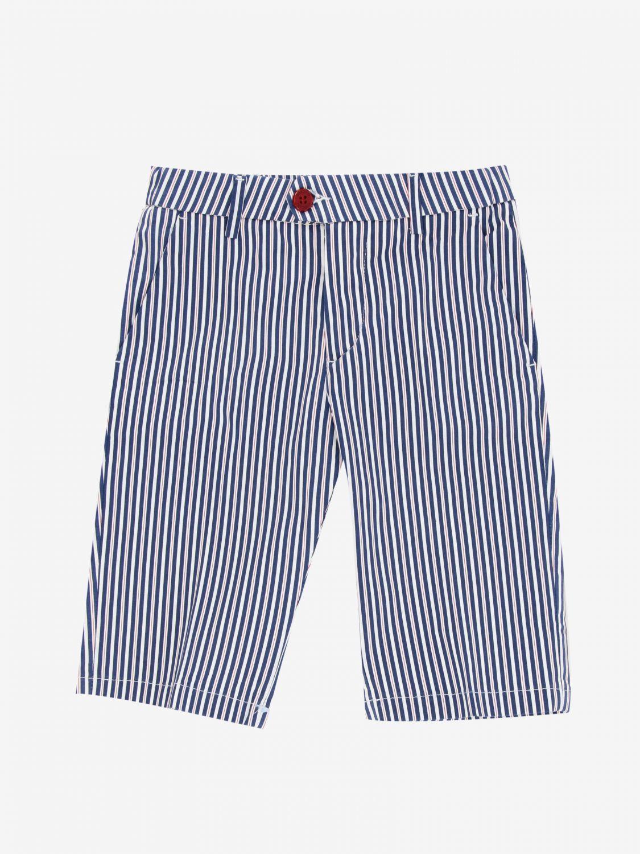 短裤 Baronio: Baronio 印花裤子 蓝色 1