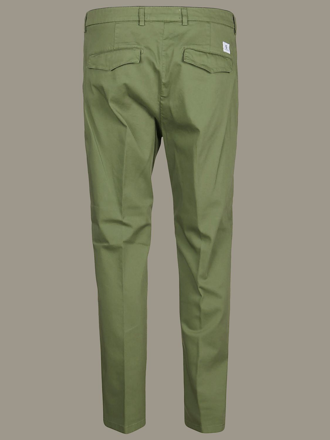 Hose Department 5: Department 5 Slim Hose aus Gabardine military 2