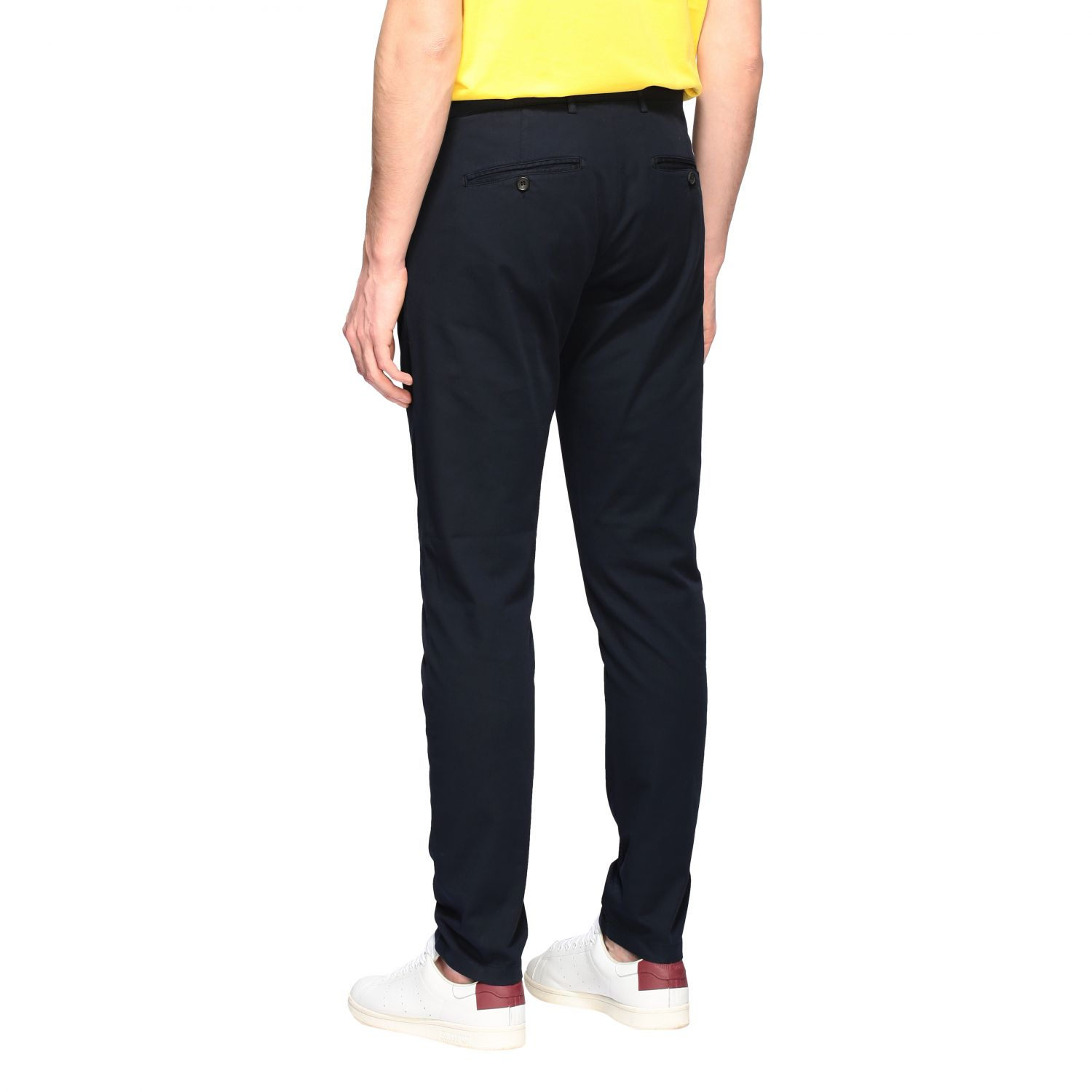 Department 5 Dyed Micke slim trousers blue 3