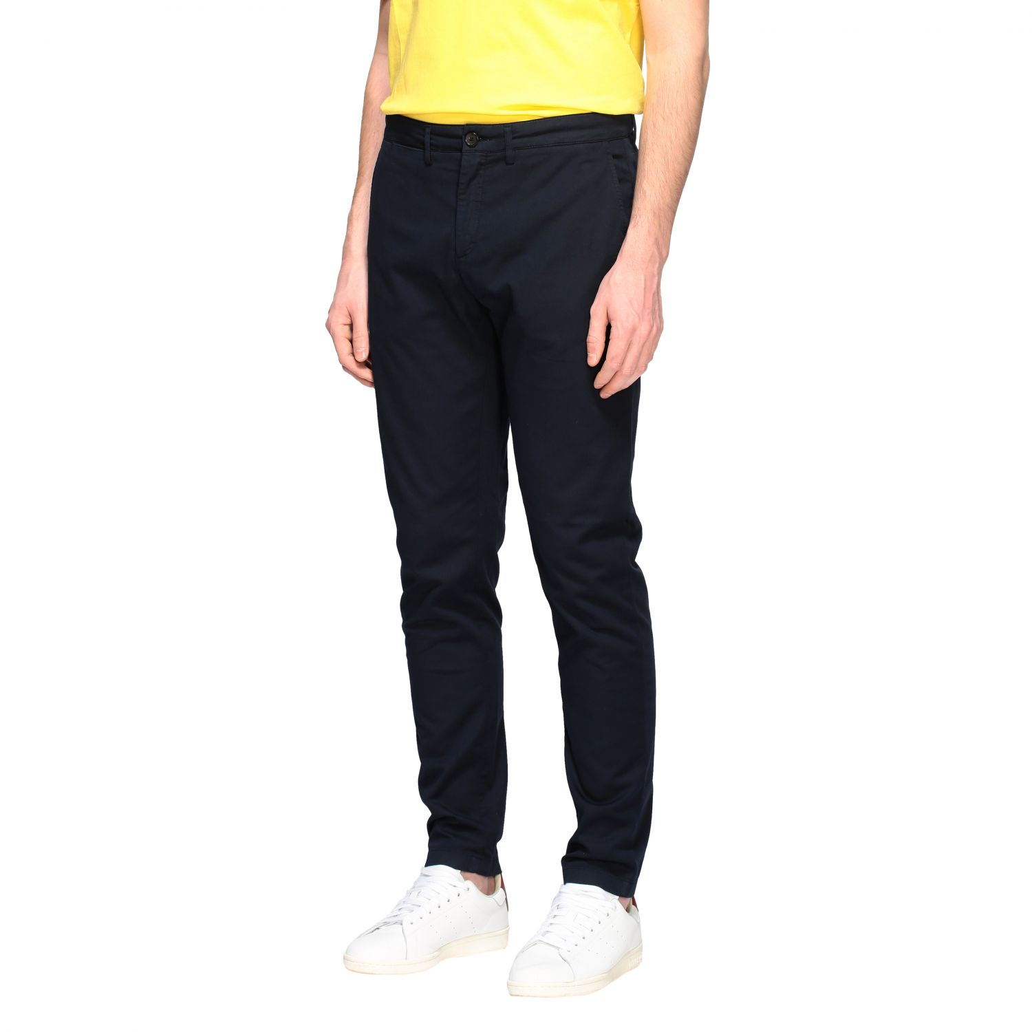 Department 5 Dyed Micke slim trousers blue 4