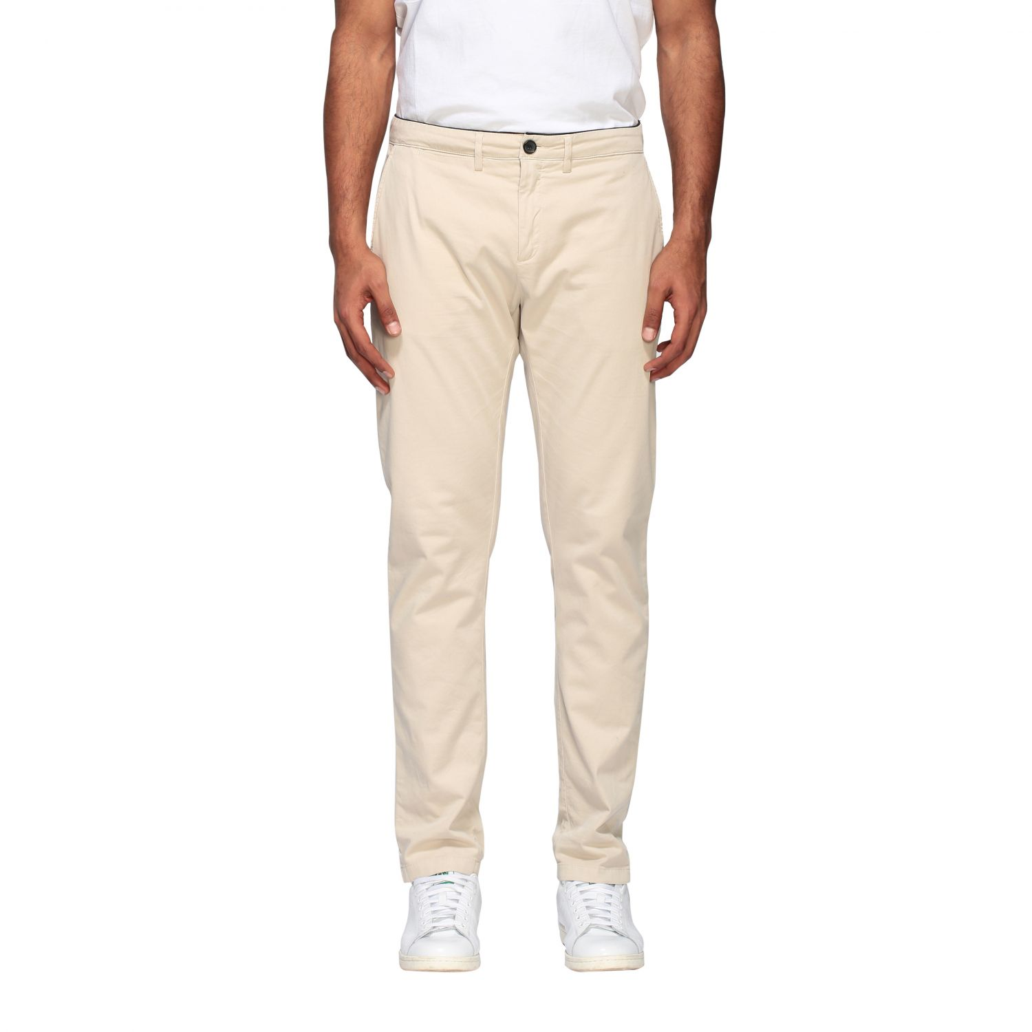 Department 5 Dyed Micke slim trousers sand 1