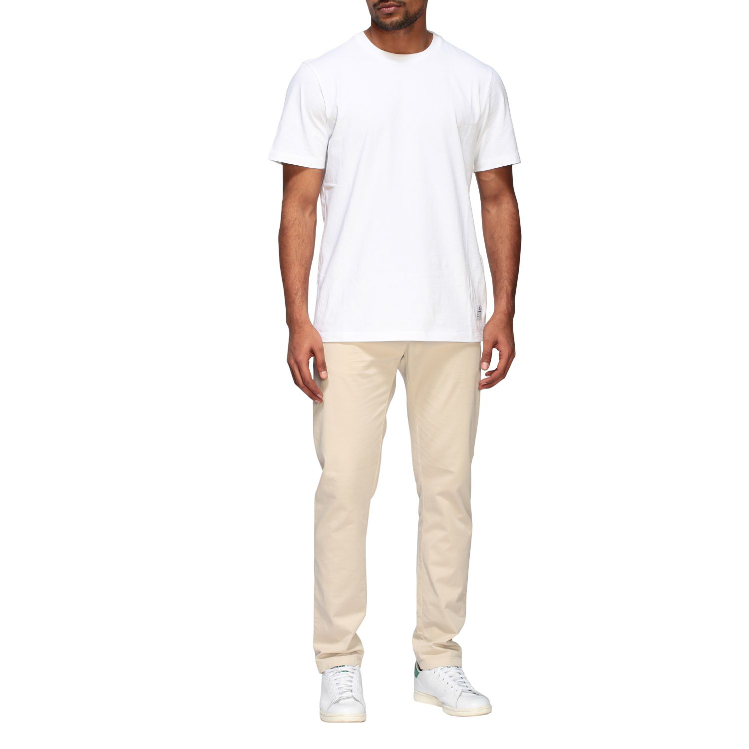 Department 5 Dyed Micke slim trousers sand 2