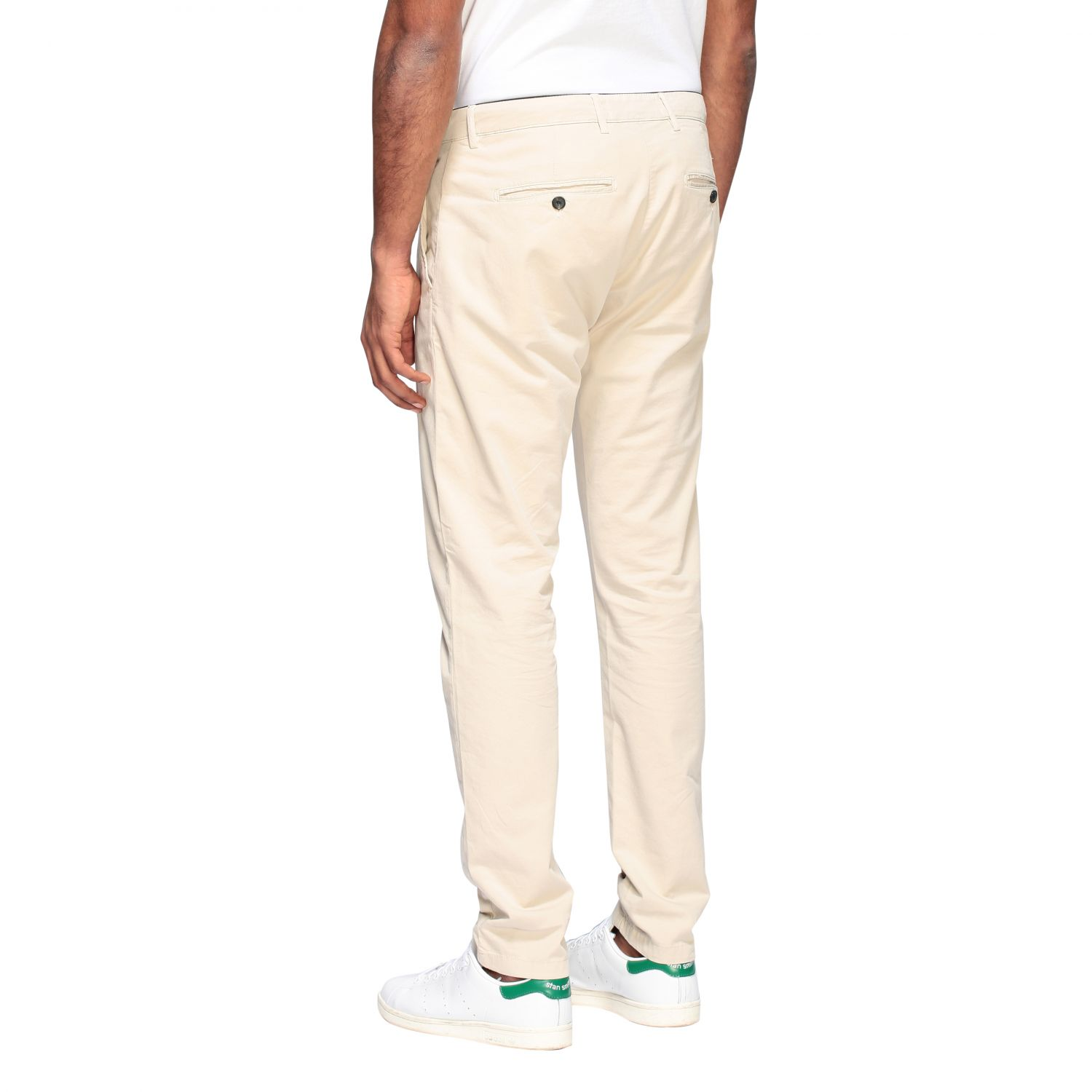 Department 5 Dyed Micke slim trousers sand 3