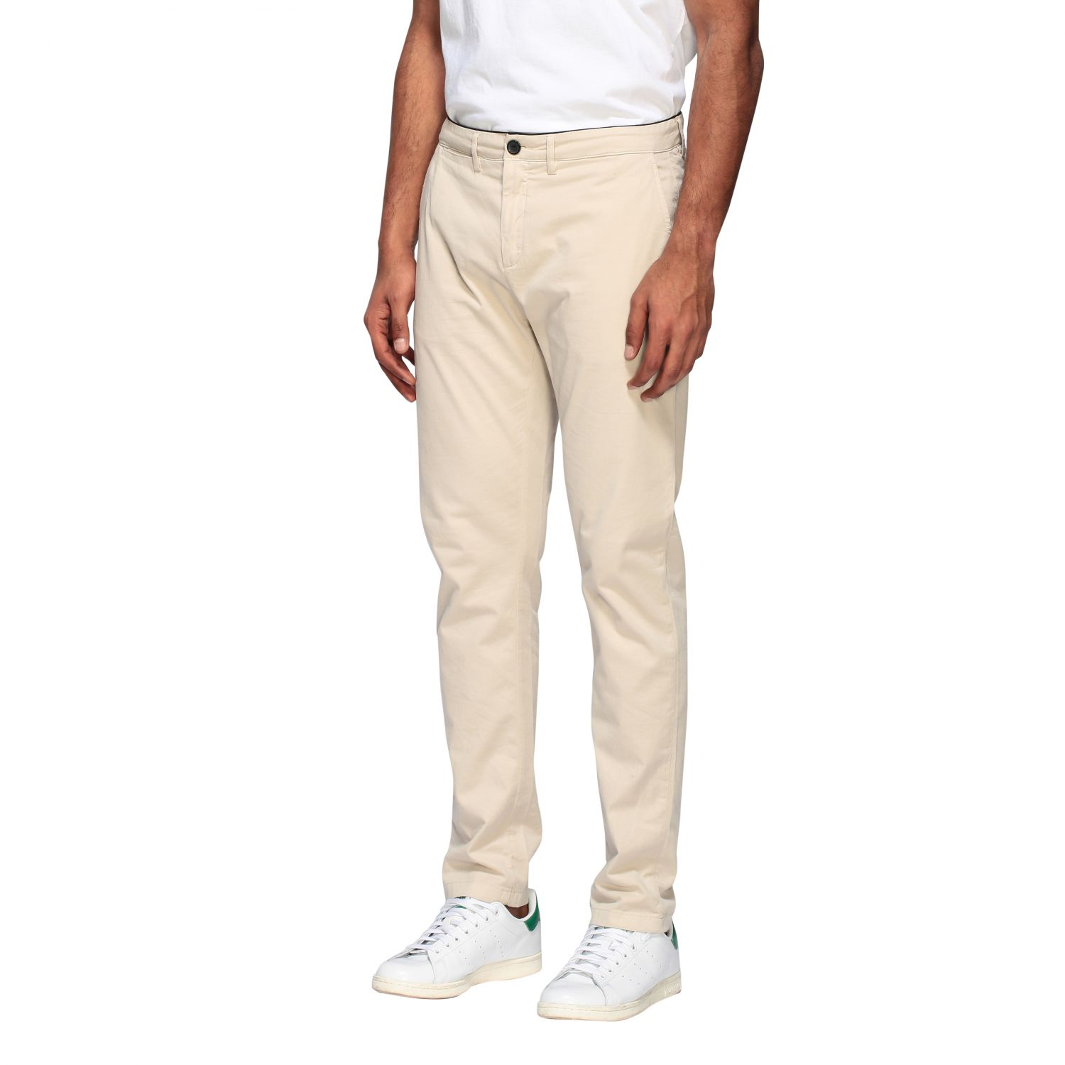 Department 5 Dyed Micke slim trousers sand 4