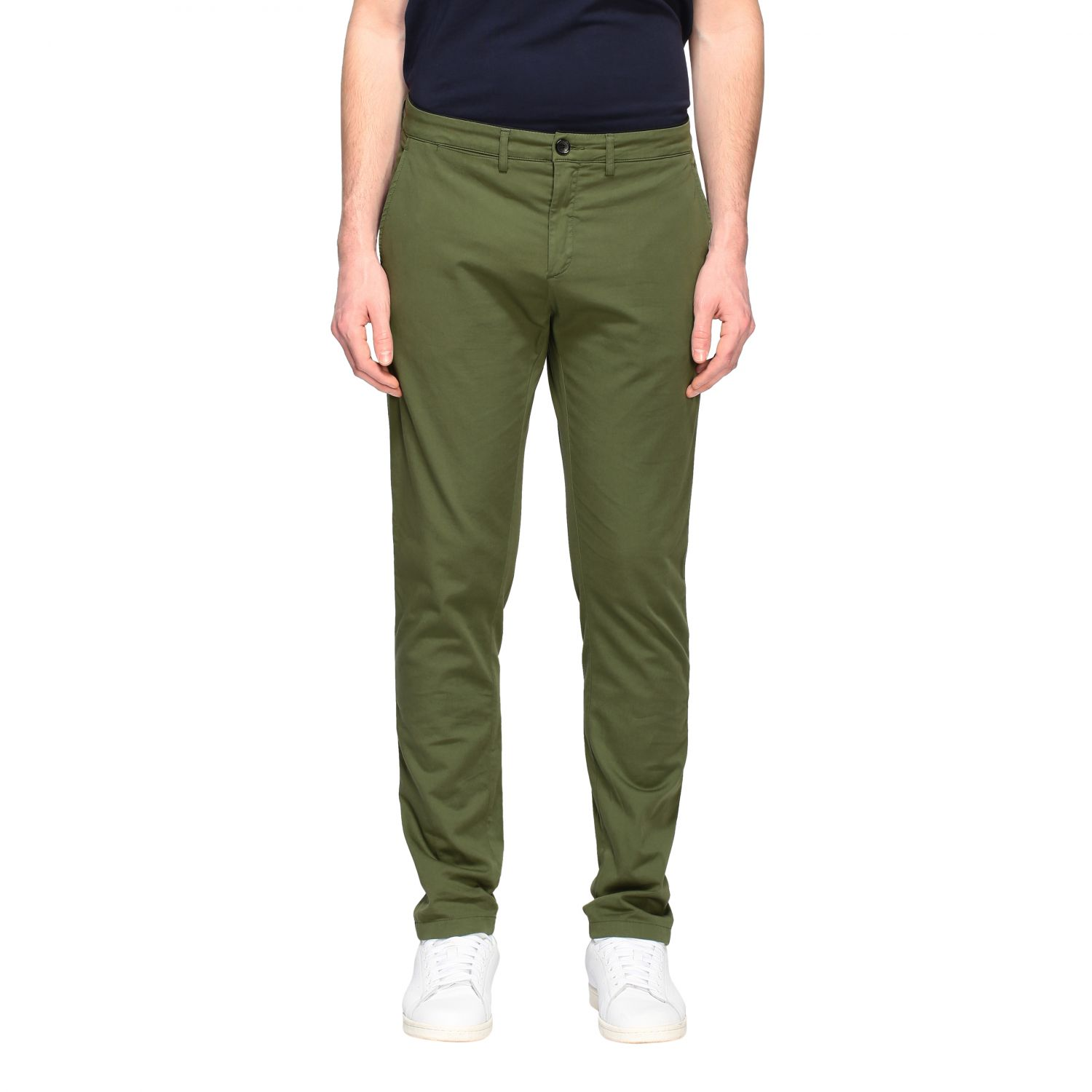 Department 5 Dyed Micke slim trousers military 1