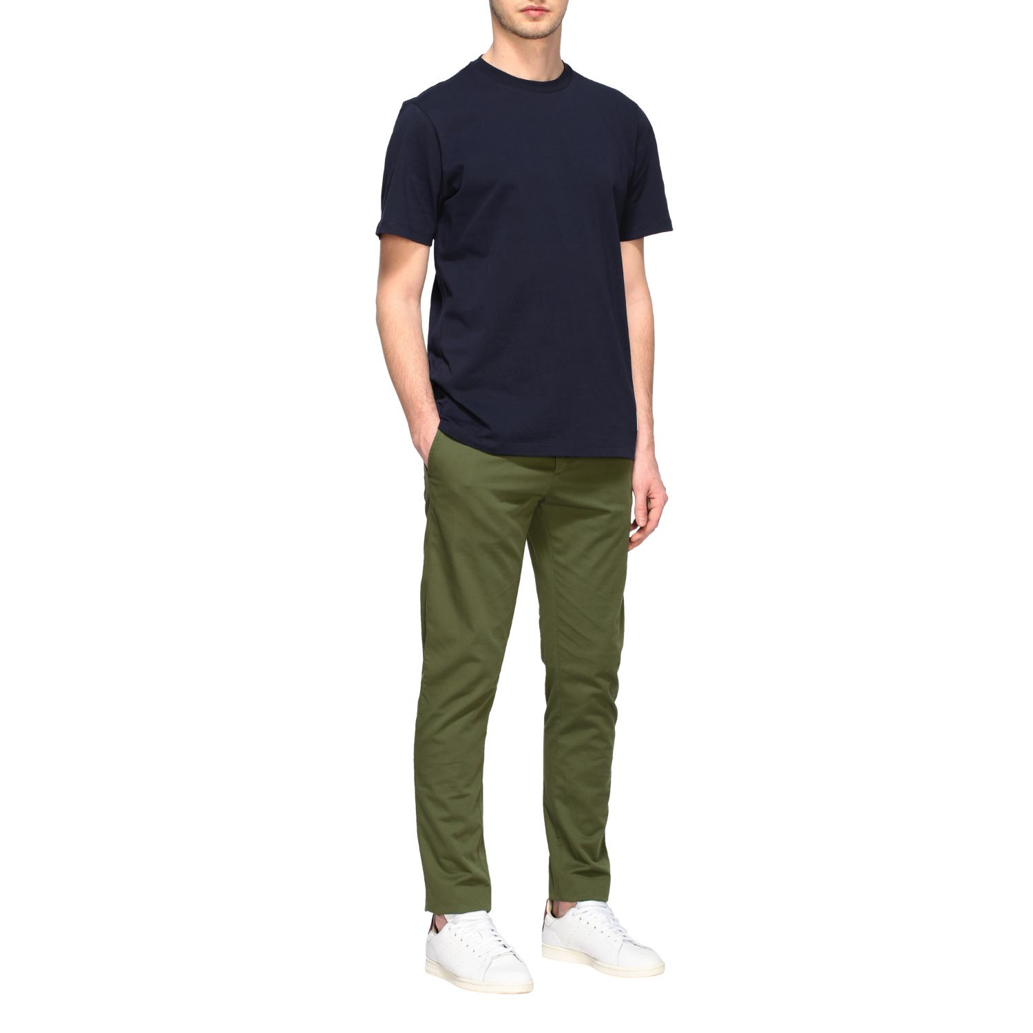 Department 5 Dyed Micke slim trousers military 2