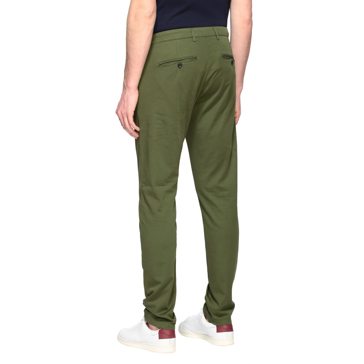 Department 5 Dyed Micke slim trousers military 3