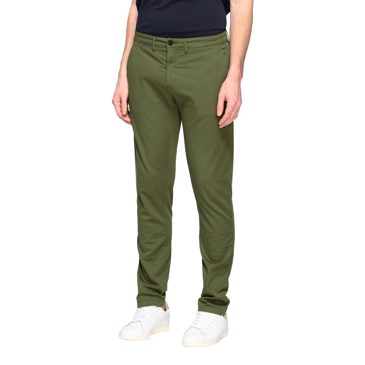 Department 5 Dyed Micke slim trousers military 4