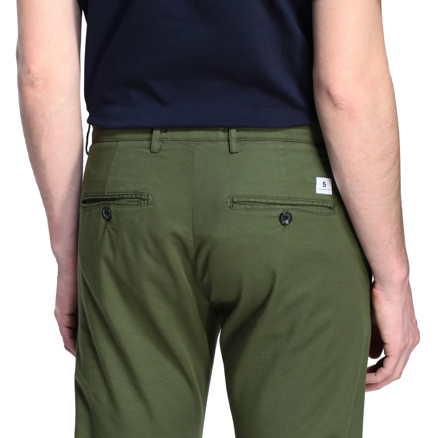 Department 5 Dyed Micke slim trousers military 5