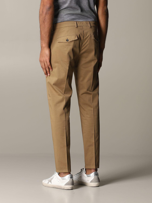Pantalon Department 5 en satin stretch noisette 3
