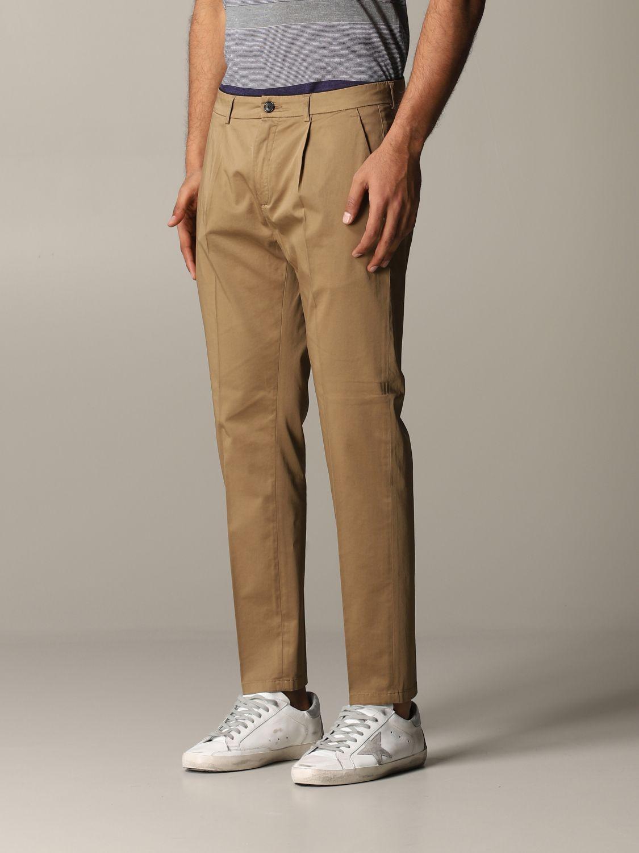 Pantalon Department 5 en satin stretch noisette 4