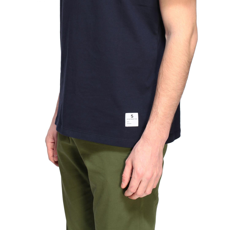 Department 5 crew-neck t-shirt blue 5