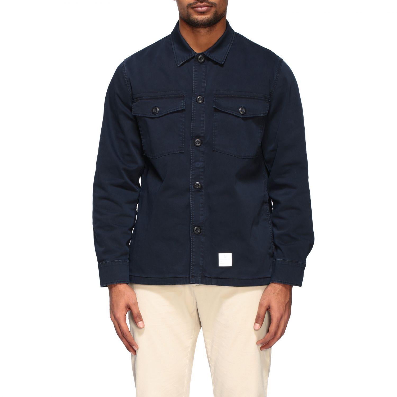 Department 5 Saharan jacket in gabardine navy 1
