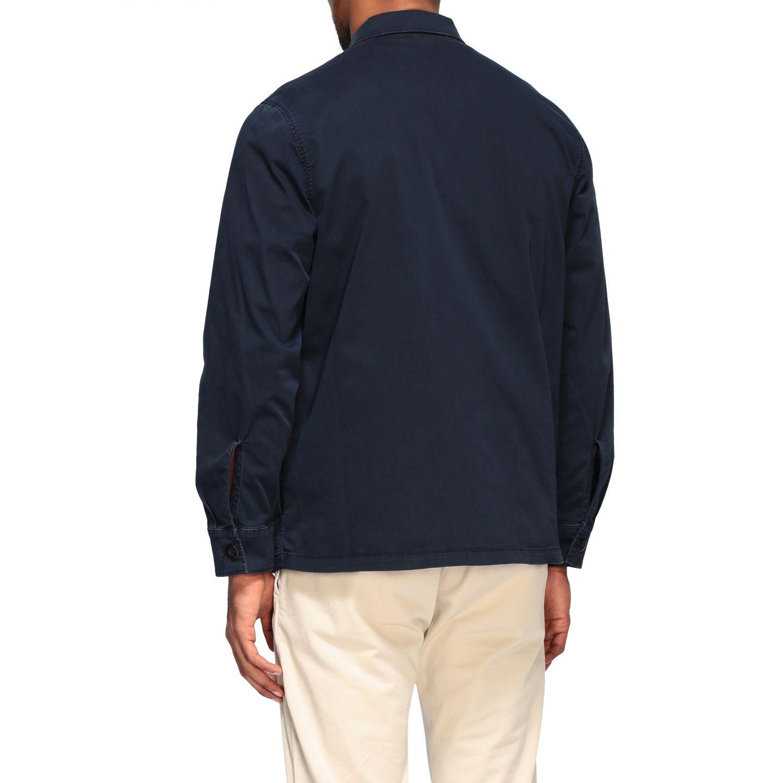 Department 5 Saharan jacket in gabardine navy 3