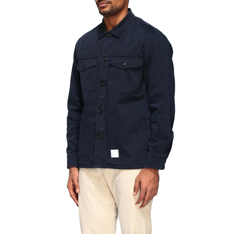 Department 5 Saharan jacket in gabardine navy 4