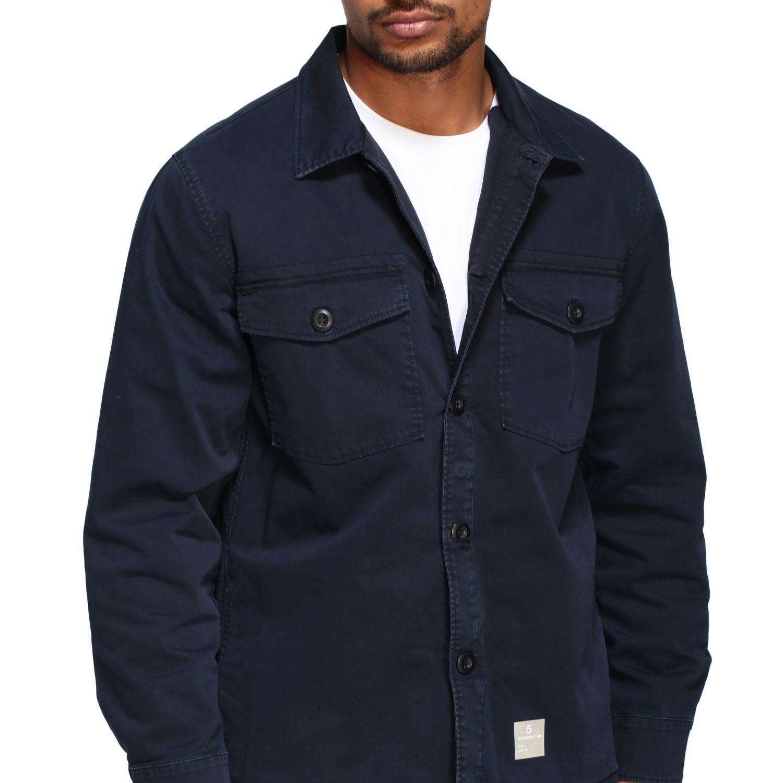 Department 5 Saharan jacket in gabardine navy 5