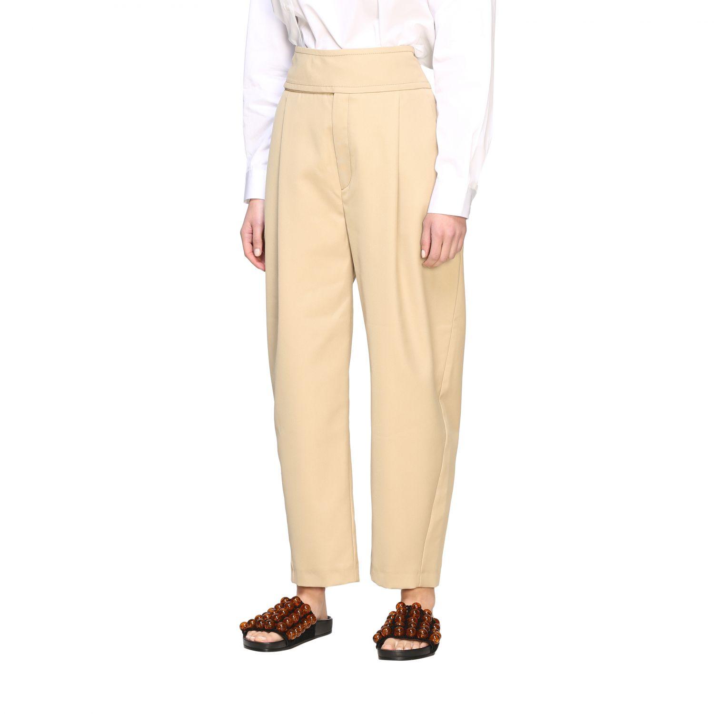 Pants women Department 5 yellow cream 4