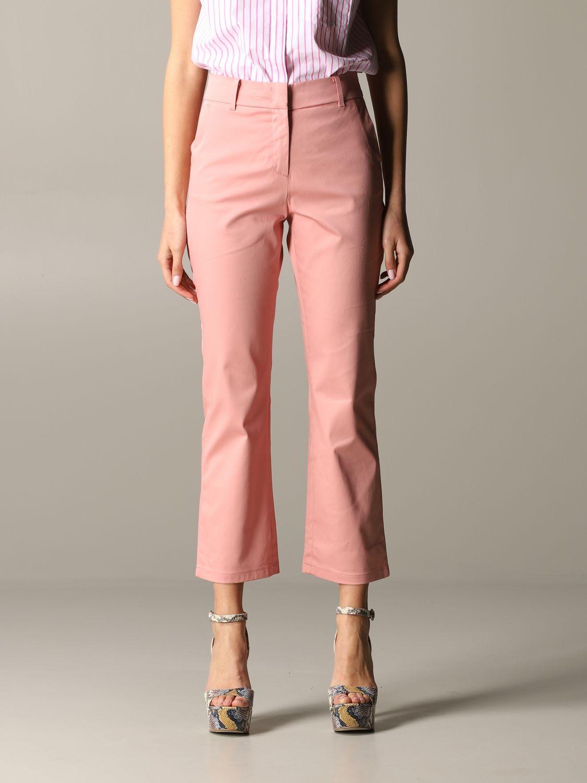 Pantalon Jet Department 5 en gabardine rose 1