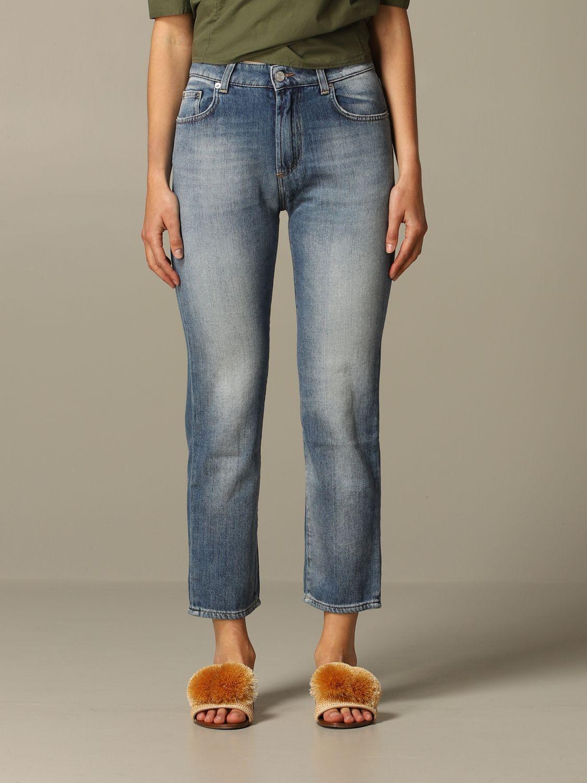牛仔裤 女士 Department 5 牛仔布 1