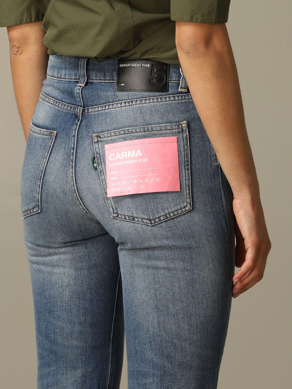 牛仔裤 女士 Department 5 牛仔布 3