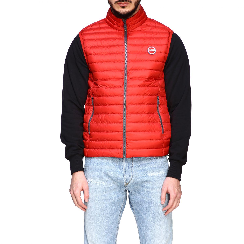 Jacket Colmar: Colmar 100 grams vest down jacket red 1
