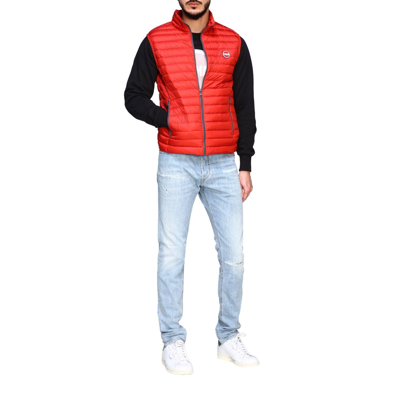 Jacket Colmar: Colmar 100 grams vest down jacket red 2