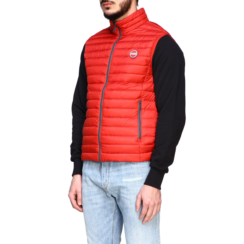 Jacket Colmar: Colmar 100 grams vest down jacket red 4